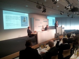 Siemens' Press Conference at SPS13