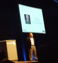 Peter Zornio address the Emerson User Group Event in Stuttgart (Apl'14)