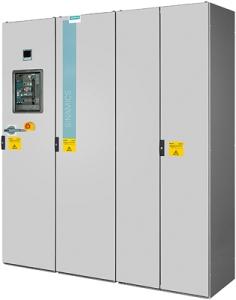 Flüssigkeitskühlung bei Siemens Umrichtern reduziert Energieverbrauch / Liquid cooling in Siemens converters reduces energy consumption