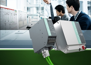 Siemens integriert Sitop-Stromversorgung in Prozessleitsystem Simatic PCS 7 / Siemens integrates Sitop power supply into Simatic PCS 7 process control system