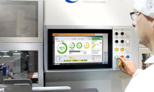 Werum IT Solutions' PAS-X KPI Solution together with Dividella packaging machine.